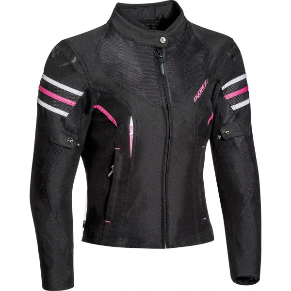Ixon ILANA woman jacket 3 layers Black Fuchsia