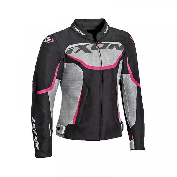 Ixon SPRINTER AIR Lady  woman jacket Black Grey Fuchsia