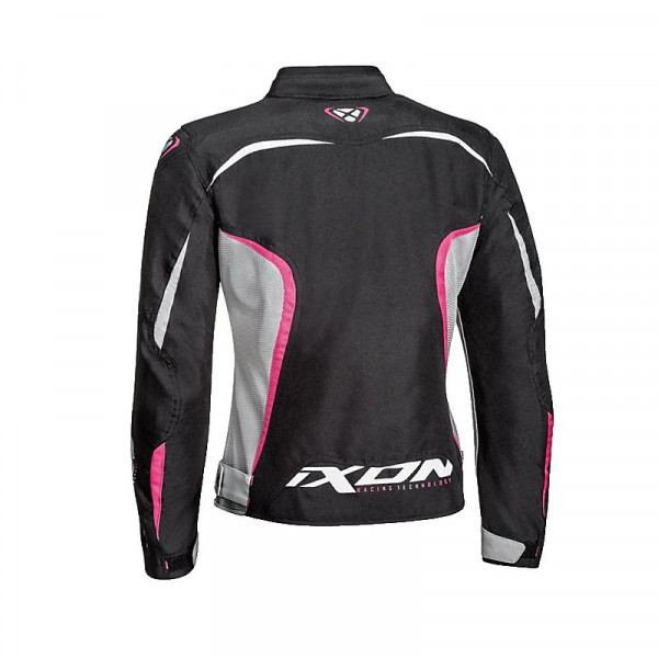 Ixon SPRINTER AIR Lady  woman jacket Black Grey Fuchsia
