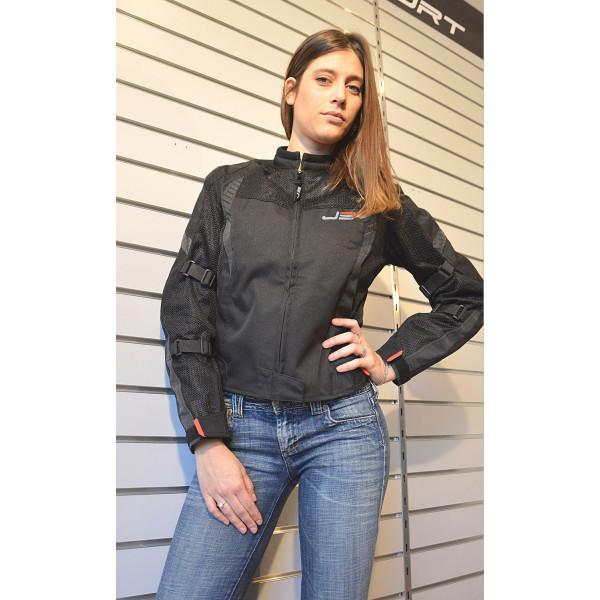 Jollisport woman jacket Woody black