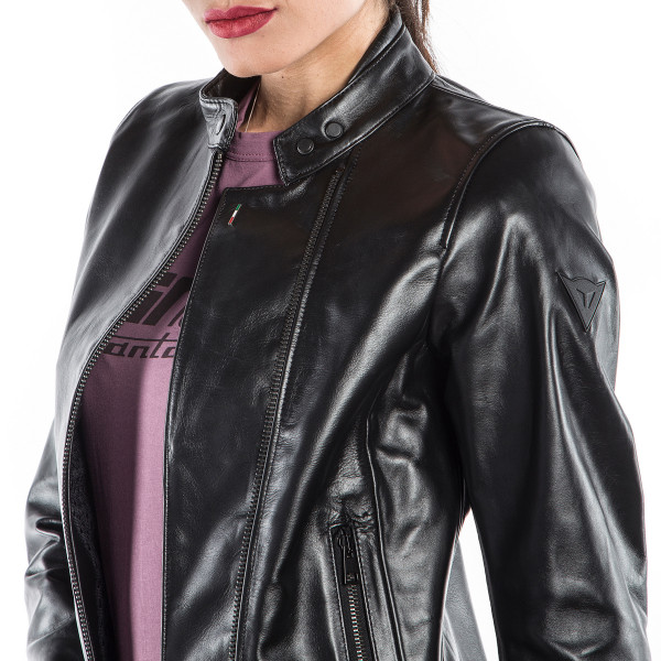 Dainese72 CHIODO72 LADY leather jacket Black