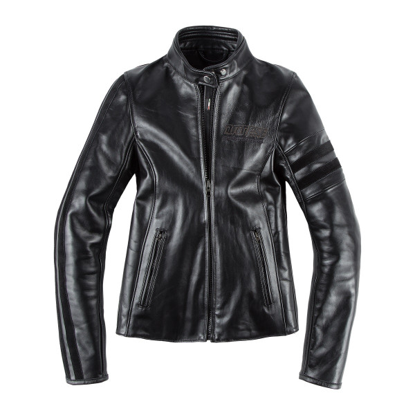 Dainese72 FRECCIA72 LADY leather jacket Black Black