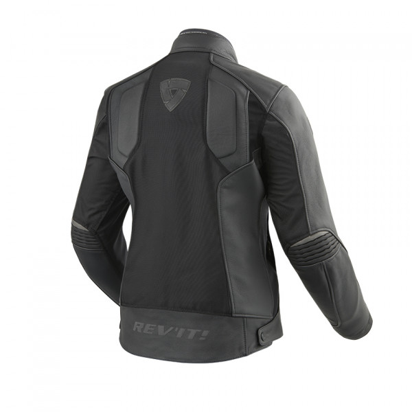 Rev'it Ignition 3 Ladies leather e tex jacket 3 layers Black