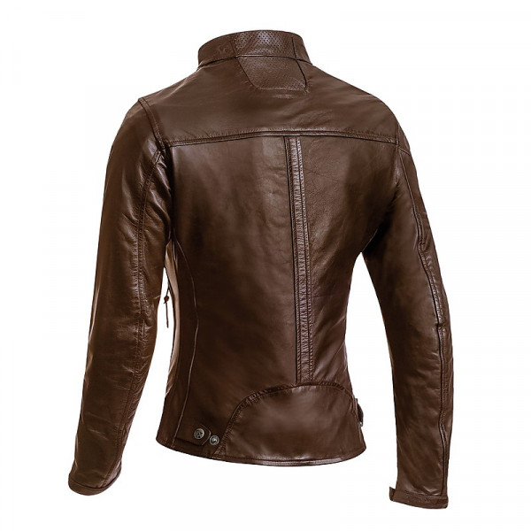 Ixon CRANK LADY woman leather jacket Brown