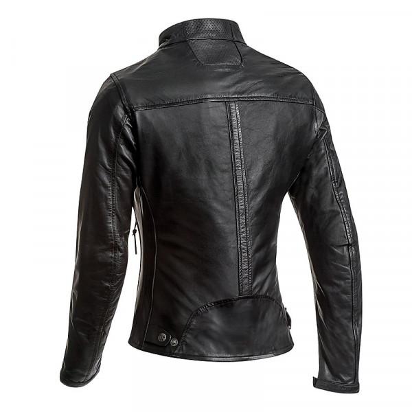 Ixon CRANK LADY woman leather jacket Black