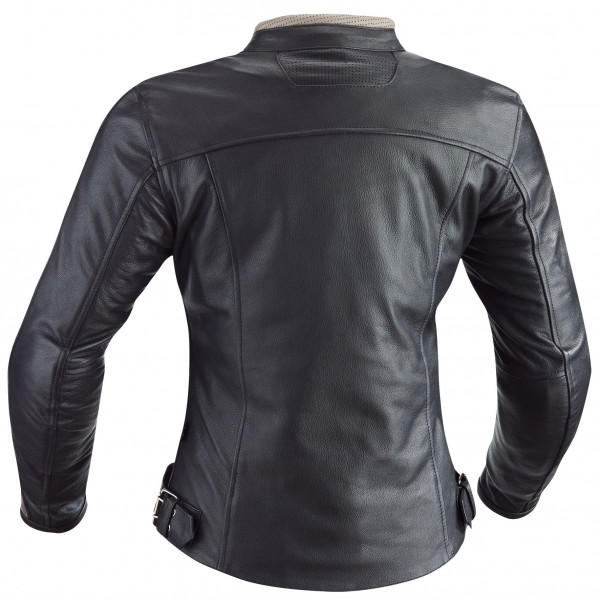 Ixon woman leather jacket Heroes black beige