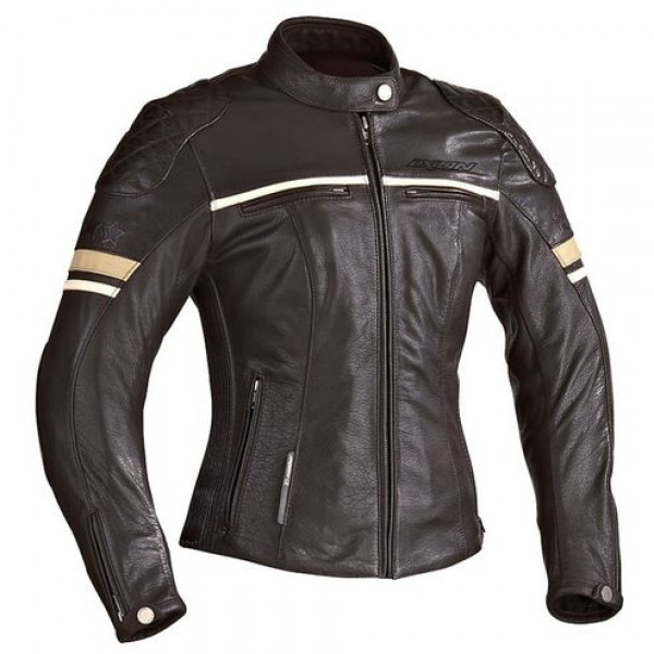 Ixon Racer MOTORS LADY motorcycle Leather Brown Cafe