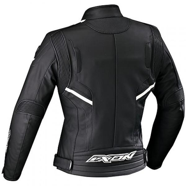 Ixon Stunter Lady leather jacket Black White
