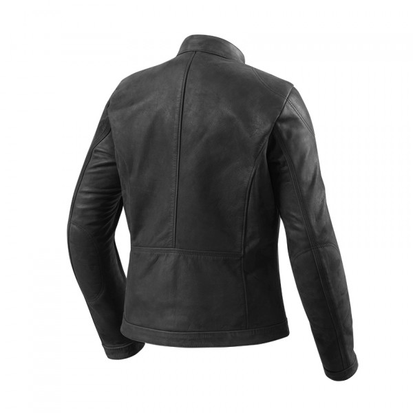 Rev'it Rosa Ladies leather jacket Black