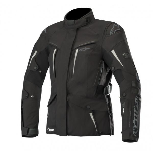 Alpinestars STELLA YAGUARA Tech-Air compatible motorcycle Lady jacket black anthracite