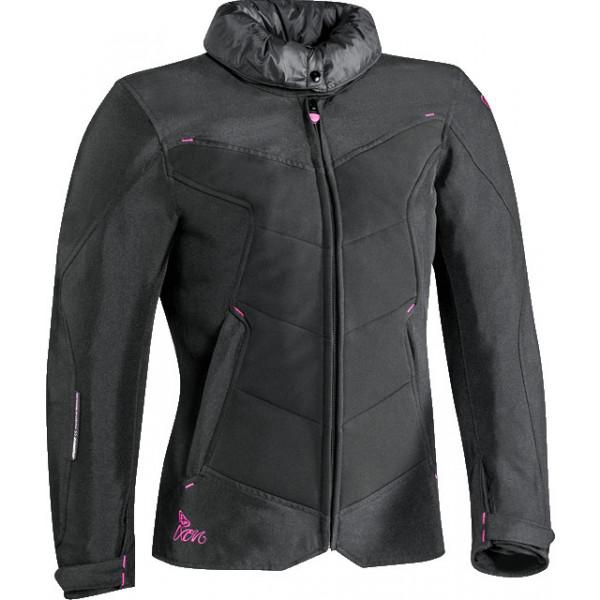 Ixon HELKA touring lady jacket black fuxia