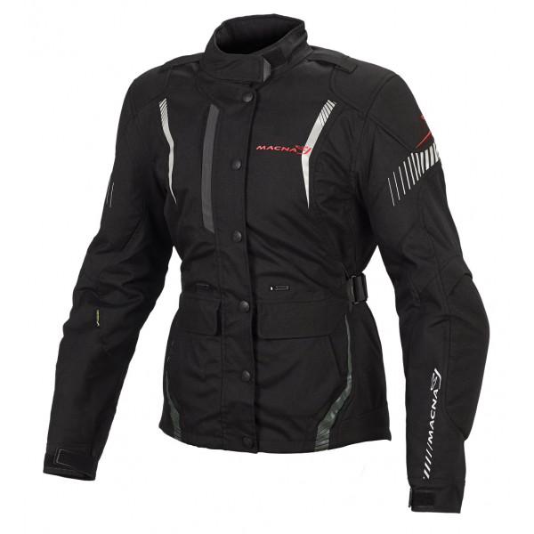 Macna woman touring jacket Beryl black
