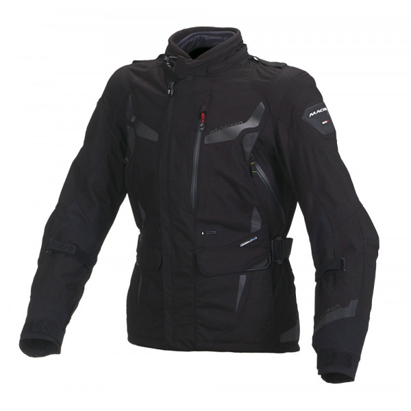 Macna woman touring jacket Impact Pro WP black