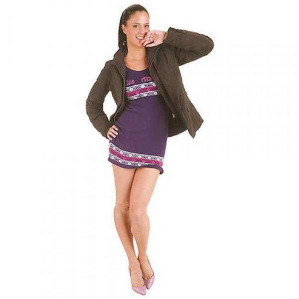 Tucano Urbano woman Jacket Cottage Lady stop wind waterproof brown