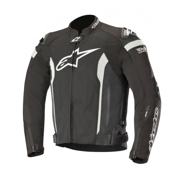 Alpinestars T-MISSILE AIR Tech-Air compatible summer jacket black whte