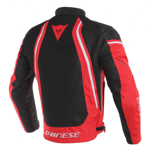 Dainese AIR CRONO 2 summer jacket black red white