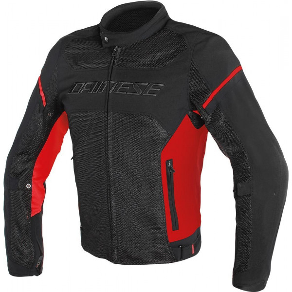 Dainese Air Frame D1 Tex summer jacket Black red red