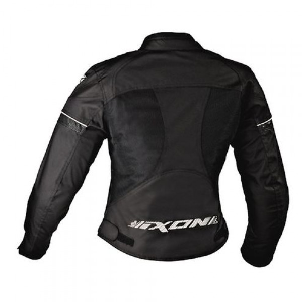Ixon Sierra Woman motorcycle Summer Jacket Black White