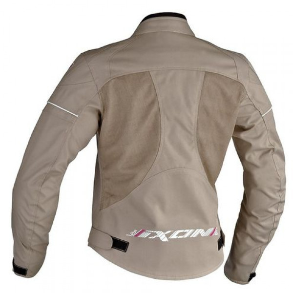 Ixon Sierra Summer Woman motorcycle jacket Black Sand