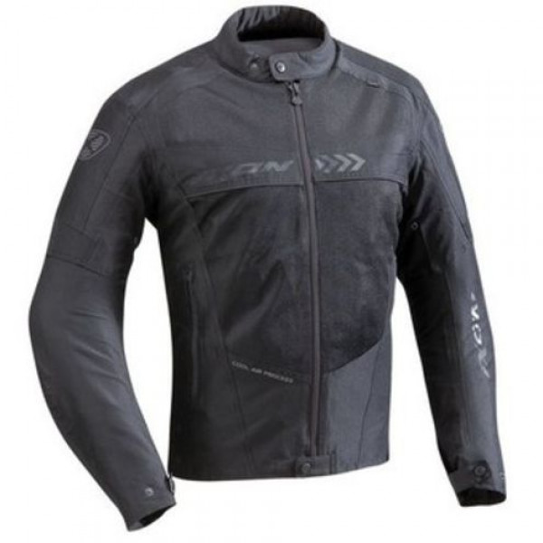 Ixon Alloy Summer motorcycle Jacket Black