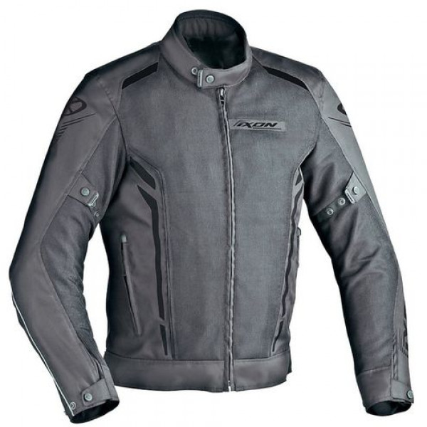 Ixon COOLER Summer motorcycle Jacket Black