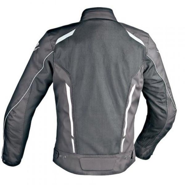 Ixon COOLER Summer motorcycle Jacket Black White