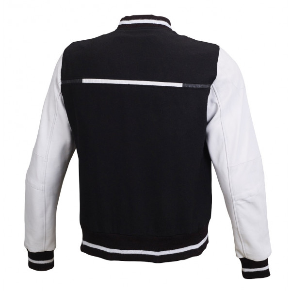 Macna summer jacket College black white