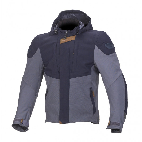 Macna summer jacket Hoodini blue grey