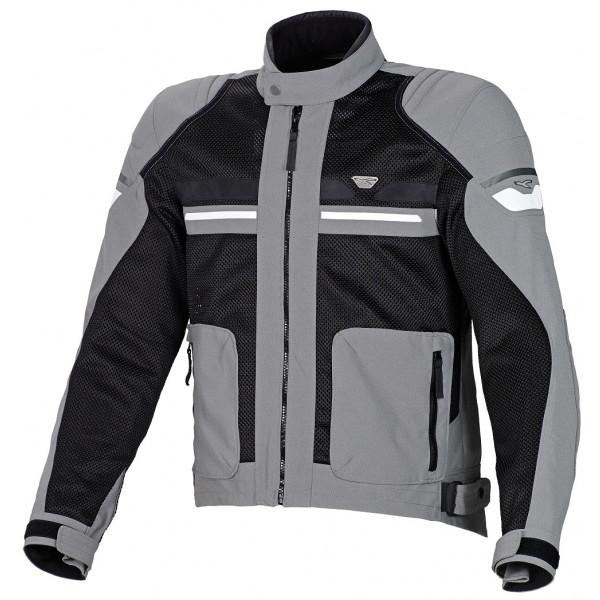 Macna summer jacket Rush grey black