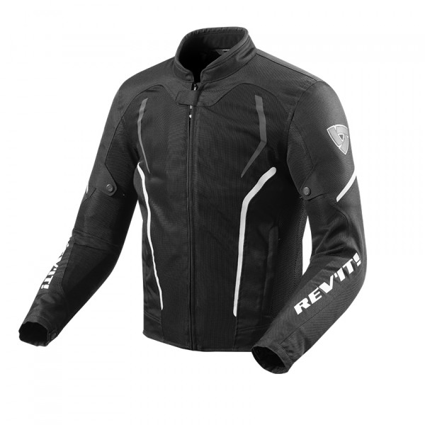 Rev'it GT R Air 2 summer jacket Black White