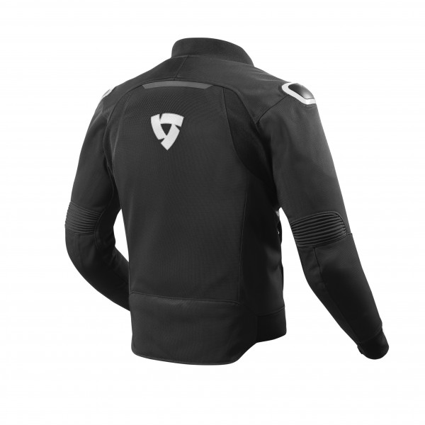 Rev'it Traction summer Jacket Black White