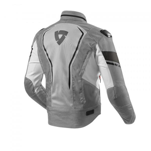 Rev'it Vertex Air Summer Jacket Light Grey Black