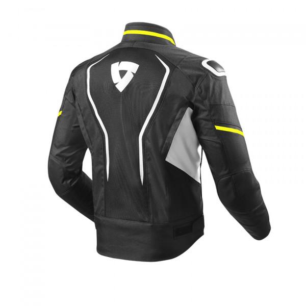 Rev'it Vertex Air Summer Jacket Black Yellow Neon