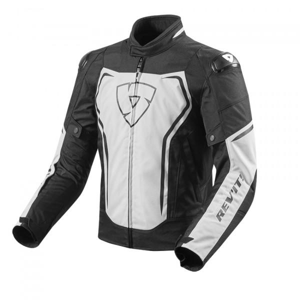 Rev'it Vortex summer jacket White Black