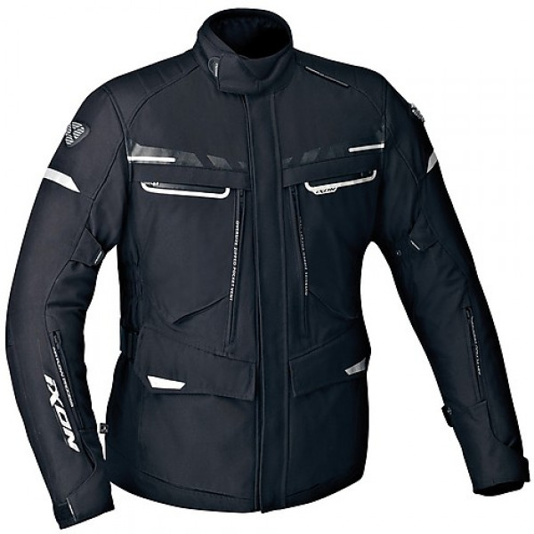 Ixon Protour HP motorcycle 3 layers Jacket Black