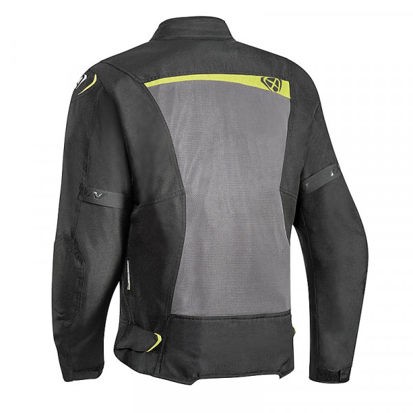 Ixon RAPTOR jacket 3 layers Black Grey Bright Yellow