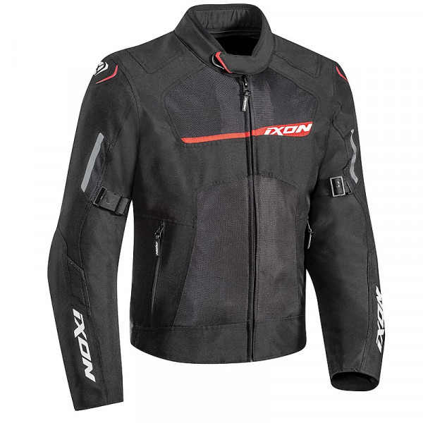 Ixon RAPTOR jacket 3 layers Black Red