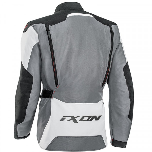 Ixon SICILIA jacket Black Grey Red