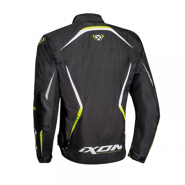 Ixon SPRINTER AIR jacket Black Bright Yellow