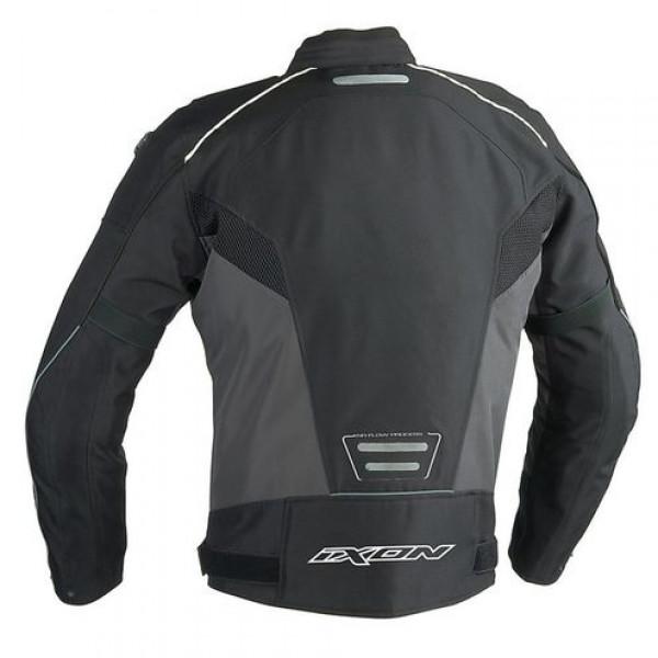 Ixon Stratus HP 4 Seasons motorcycle Jacket Black White