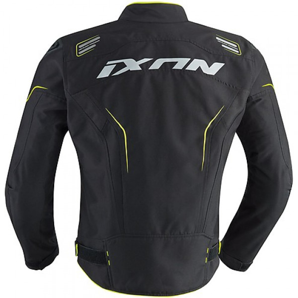 Ixon Jacket Zephyr Air HP black grey yellow