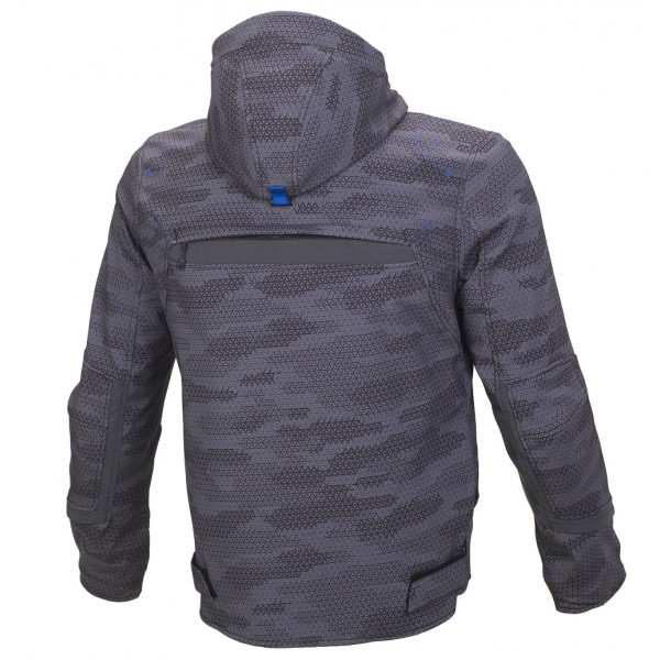 Macna jacket Habitat WP black camo grey
