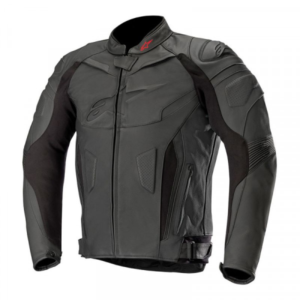 Alpinestars GP PLUS R V2 leather jacket Black Black
