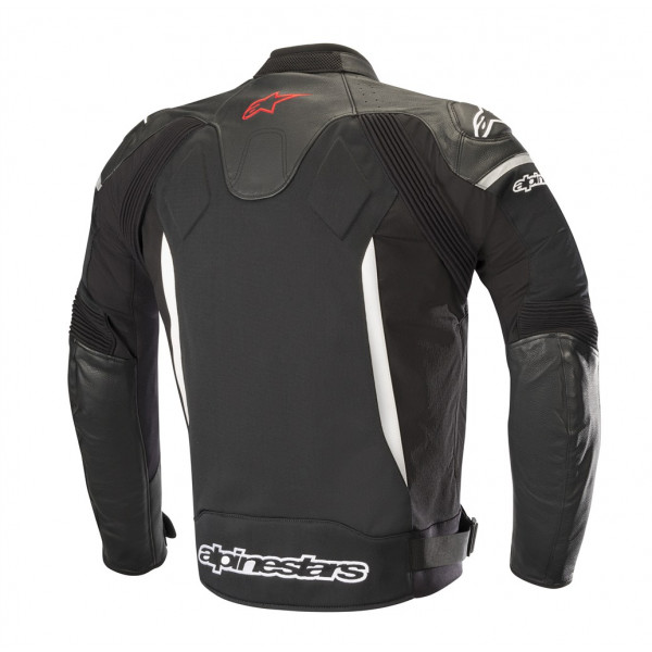 Alpinestars SP X AIR leather jacket black whte