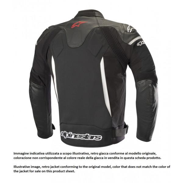 Alpinestars SP X AIR leather jacket black black