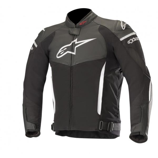 Alpinestars SP X leather jacket black whte