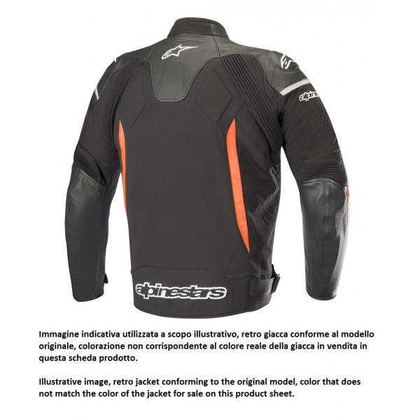 Alpinestars SP X leather jacket black black