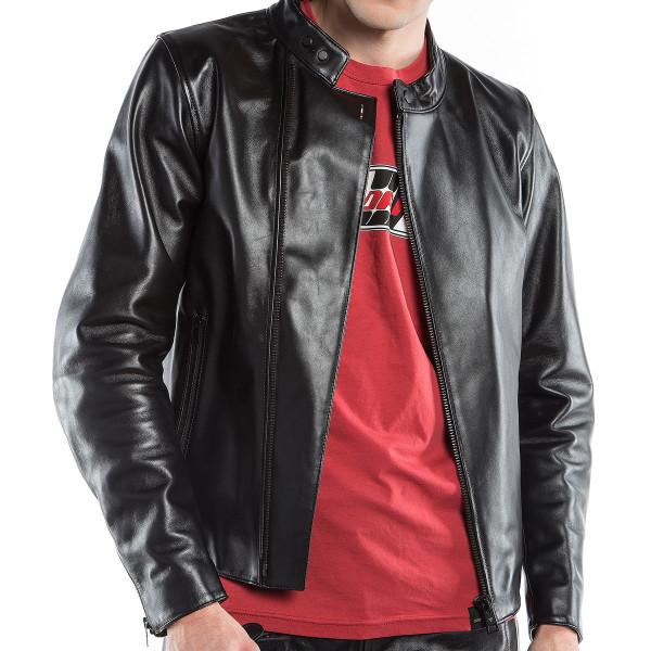 Dainese72 CHIODO72 leather jacket Black