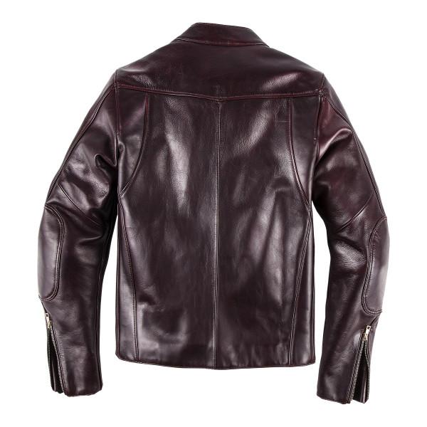 Dainese72 PATINA72 leather jacket Cordovan
