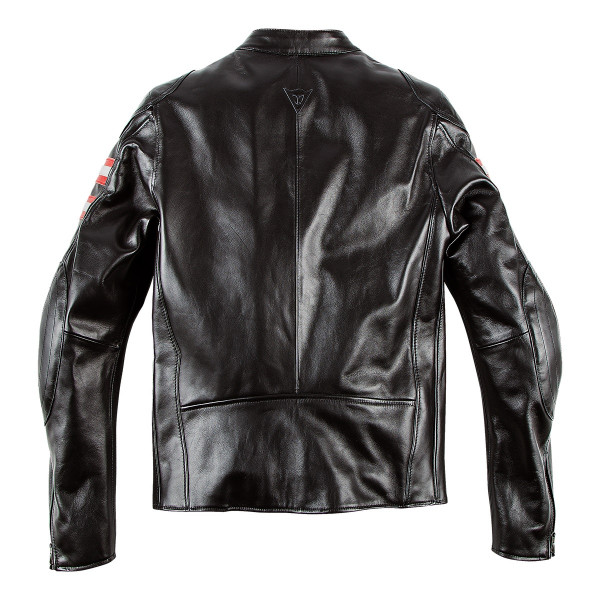 Dainese72 RAPIDA72 leather jacket Black